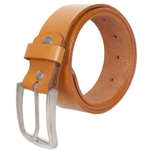 CREATURE Casual Tan Color Genuine Leather Belts For Men (BL-021)
