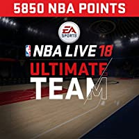 NBA Live 18: NBA18 - 5850 NUT Points Pack - PS4 [Digital Code]