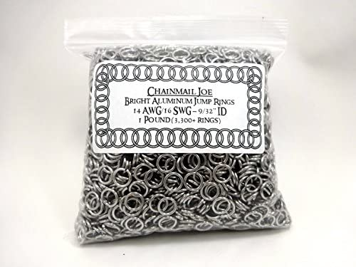 Made In The USA Solid Copper Open Jump Rings 18 Gauge 5mm I.D. 300 Pcs.