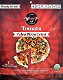 Paleo Pizza Crust | Tomato Flavored Organic Gluten Free, Dairy Free, Soy Free, Nut Free and Vegan Pizza Crust