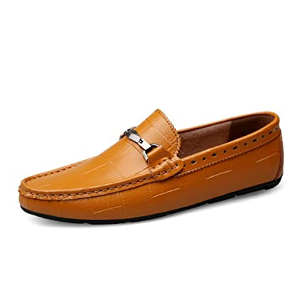 68519d9f8085 Amazon.com: YaXuan Men's Shoes Leather/Spring / Summer Fall Comfort ...