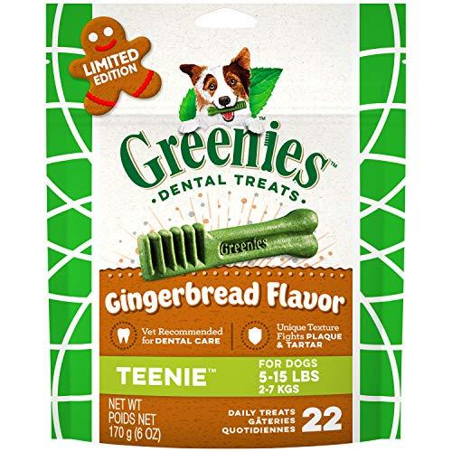 Greenies Gingerbread Flavor Teenie Dental Dog Treats Now $4 (Was $9.99)