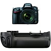 Nikon D610 24.3 MP CMOS FX-Format Digital SLR Camera with 24-85mm f/3.5-4.5G ED VR Auto Focus-S Nikkor Lens + Nikon MB-D14 Multi Battery Power Pack