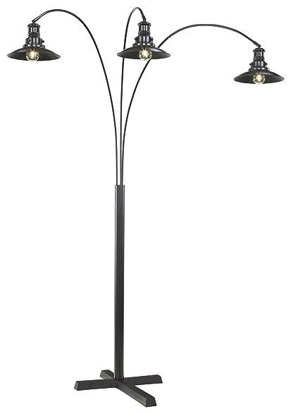 Amazon.com: Signature Design by Ashley L725059 Metal Arc lamp ...