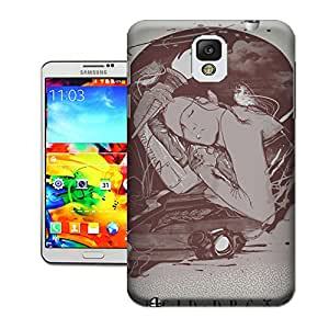 WBOX Heavy Duty DIY Lucid Dream TUP Mobile Phone Hard Case Cover Fit for Samsung Galaxy Note 3