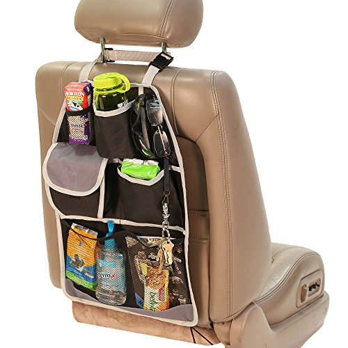 FH GROUP FH1181 E-Z Travel Car Organizer w. 7 Various Pockets by FH Group