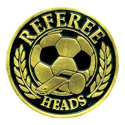 Soccer Referee Flipping Coin