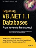 Beginning VB .Net 1.1 Databases, Dan Maharry, 1590593588