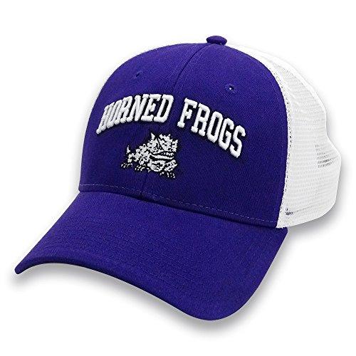 NCAA TCU Horned Frogs Adult Unisex The Game Everyday Trucker Mesh Hat, Adjustable, (Frog Trucker Hat)