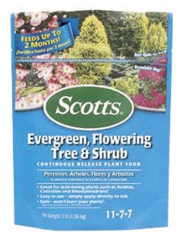 Scotts 1009101 Evergreen Flowering Tree & Shrub Food 3 Lbs