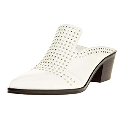 Amazon.com | 1.STATE Women's LON Studded Slip-On Mule | Shoes