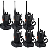 Retevis H-777 Two-Way Radio 3W Signal Band UHF 400-470MHz VOX Flashlight Ham Amateur Radio(Pack of 6)