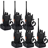 Retevis H-777 Two-Way Radio 3W Signal Band UHF 400-470MHz Flashlight Ham Amateur Radio(6 Pack)