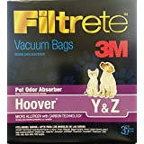 3M Hoover Pet Odor Absorber Vacuum Bags *Special 6 boxes = 18 BAGS*