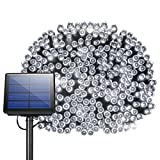 Solar String Lights, Litom 300 LED Outdoor Solar Decor Powered Lights with Super Long String and 8 Working Modes, Waterproof Ambiance Lighting for Patio, Home, Wedding, Christmas Party, Black Friday