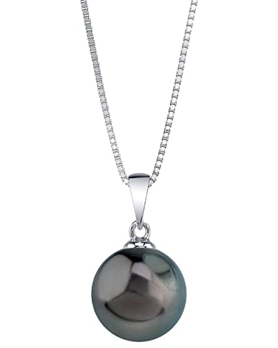 THE PEARL SOURCE Genuine Tahitian South Sea Cultured Pearl Sydney Pendant Necklace for Women