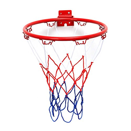 TRADERPLUS Universal Basketball Net Goal All Weather Hoop Goal Rim Netting Indoor Outdoor