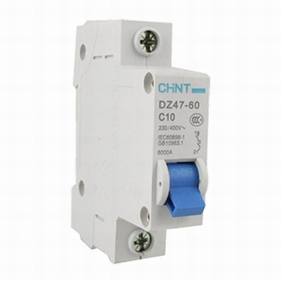 DZ47-60 C10 1P 10A  AC230//400V  Household Mini Circuit Breaker Air Switch