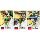 amiibo Zelda Link Majora's Mask Skyward Sword Twilight Princess x 3P Toy Japan