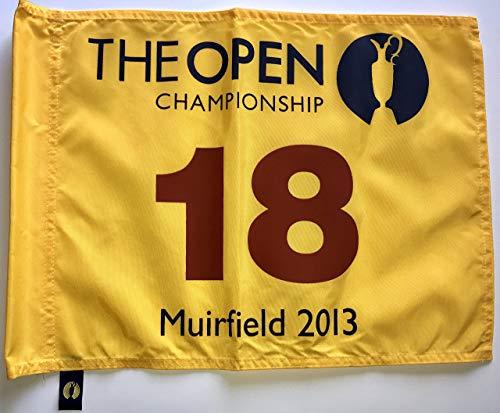 2013 British Open Flag Muirfield golf tournament Phil Mickelson wins