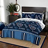 The Northwest Company NFL Tennessee Titans Queen Bed in a Bag Complete Bedding Set #919952411