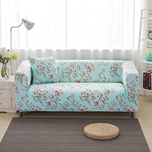 All-Inclusive Sofa Couch Cover Stretch Furniture Slipcover Elastic Slip-Resistant Sofa Cover Single Two Three Four-Seater   11, Single Seater