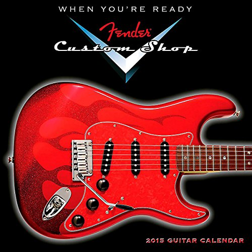 fender custom shop 2015 calendar - 9