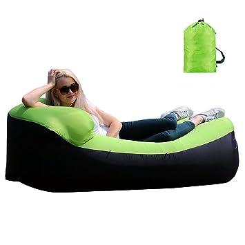 AVNTEN Wasserdichtes Aufblasbares Sofa, Aufblasbare Liege, Tragbar  Aufblasbarer Sitzsack, Aufblasbare Couch Für Reisen