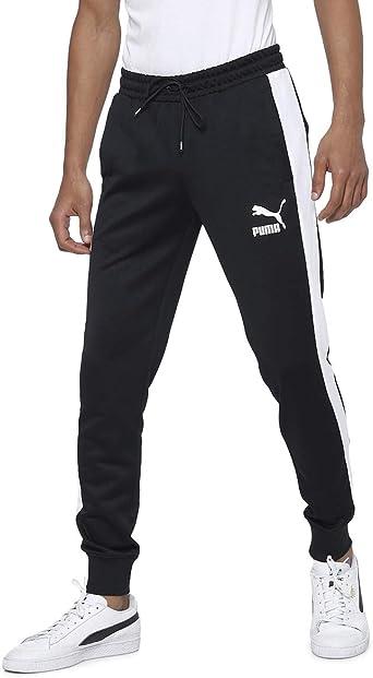 PUMA Iconic T7 Track Pant Cuff - Pantalones Hombre: Amazon.es ...