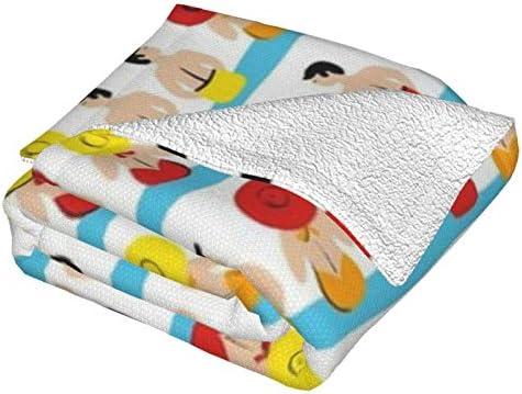 Couverture polaire pour lit de piscine Sunshine - Couverture polaire ultra douce et moelleuse - Pour canapé, lit et salon - 127 x 101,6 cm