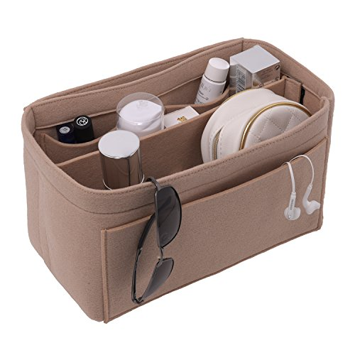 [New Style] Luxury Felt Purse Organizer, Bag Organizer, Handbag Tote Bag Insert Organizer for Speedy Neverfull Longchamp, 3 Sizes (Louis Vuitton Bags New)