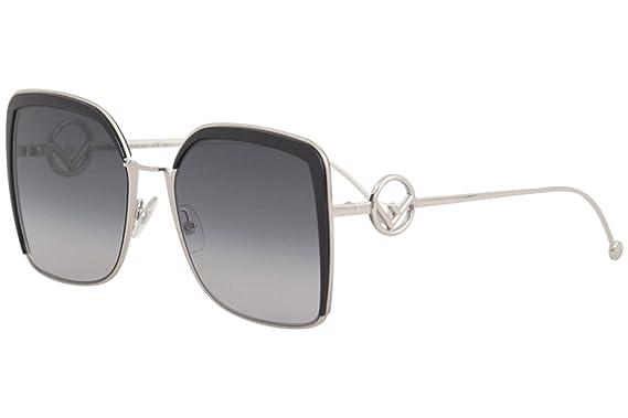 1fa53c3a6f4a Amazon.com  Fendi Women s Square Oversized Sunglasses