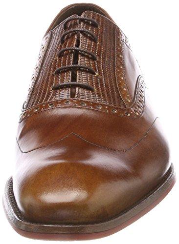 Floris Van Bommel Herren 19114 Oxford, Braun (cognac)