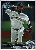 2017 Bowman Baseball Chrome Prospects #BCP22 Freddy Peralta Brewers