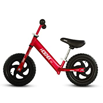 JYY Bicicleta para Niños con Rueda Neumática, Manillar Y Asiento Ajustables, Sin Pedal para Andar, para Niños De 2 A 5 Años, Niñas Y Niños,D: Amazon.es: ...