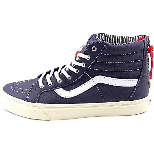 Sk8-Hi Zip CA leather varsity stripe eclipse