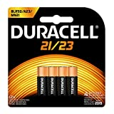 Duracell - 21 12V Specialty Alkaline Battery - long-lasting battery - 4 count