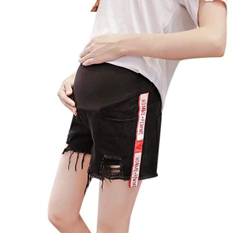 XXIAZHI, Pantalones de maternidad de seguridad Pantalones ...