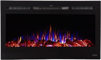 Amazon Com Touchstone 80014 Sideline Electric Fireplace 36