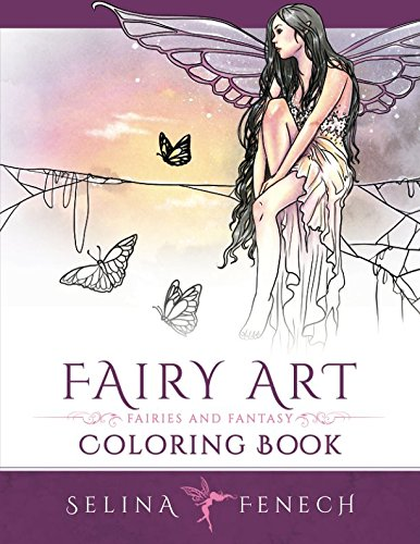 Fairy Art Coloring Book (Fantasy Art Coloring by Selina) (Volume ()