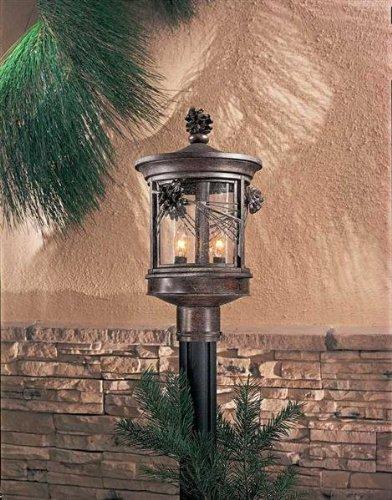Minka Lavery Outdoor 9156-357, Abbey Lane Outdoor Post Lighting, 180 Total Watts, Iron 357 Minka Lavery Outdoor Post