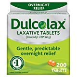 Dulcolax Laxative Tablets, (Pack of 4) ghe^islm