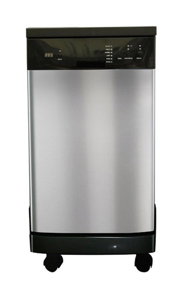 SPT SD-9241SS Energy Star Portable Dishwasher,