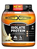 Body Fortress Super Advanced Whey Protein Isolate Powder, Gluten Free, Vanilla, 1.31 lbs (Packaging May Vary)