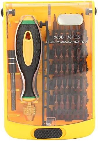 Fictor 1つの磁気ドライバーセット修理スクリュードライバーキットのクロムバナジウム合金鋼38