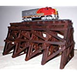 Railroad Trestle for HO Gauge Trains and Railroad Layouts
