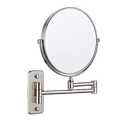 Specchio Per Trucco Da Parete.Mrj Specchio Trucco Da Parete Allungabile Specchio Bagno Trucco