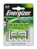Energizer Universal AA Rechargeable Batteries - Pack of 4