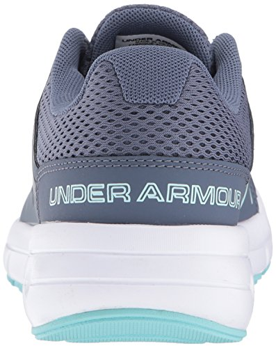 Under Armour Frauen Dash 2 Apollo Grau / Weiß / Blau Infinity