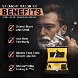 Gold Straight Razor - Stainless Steel Straight